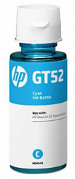 HP GT52 Ink Bottle Cyan