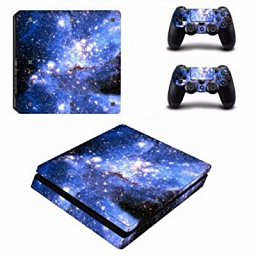 Sony PS4 Slim Vinyl Blue Starry Sky