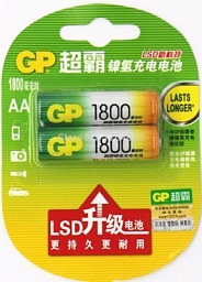 GP Rechargeable battery AA(2) 1800mAh