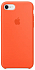 Apple Silicone Case for Iphone 7 Orange