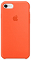 Çexol Apple Silicone Case for Iphone 7 Orange - Maxi.az