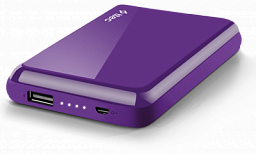 T-tec ReCharger Universal Powerbank 5.000Mah Purple