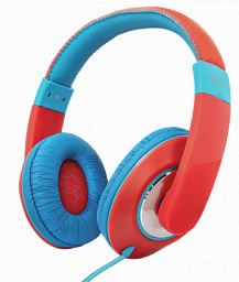 Trust Sonin Kids Headphones - red (23585)