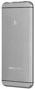 Portativ şarj cihazı (Power Bank) Power bank Hoco 6000mah Grey - Maxi.az
