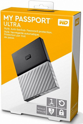 WD My Passport 1 TB Black  HDD