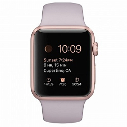 Apple Watch sport 38mm Rose Gold