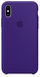 Apple Silicone Case for Iphone X Violet