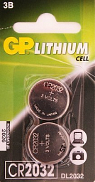 GP Litium 3V(2) CR2032-7C2