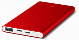 T-tec AlumiSlim S Universal Mobile Charger 10.000 mah Red