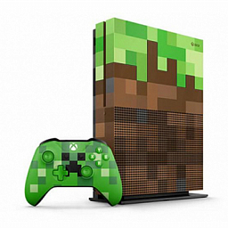 Xbox One S 1TB (Minecraft Bundle Limited Edition)