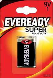 Eveready battery 9V-6F22