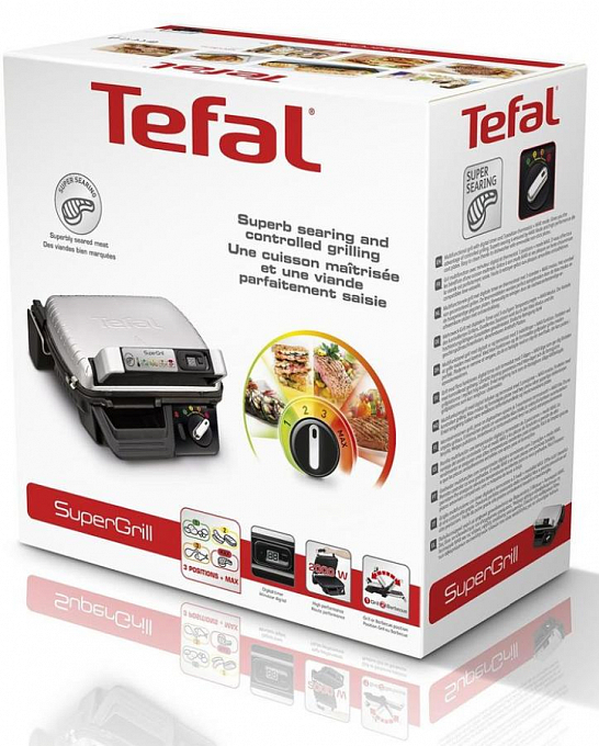 Qril Tefal SUPERGRIL GC451B12 - Maxi.az