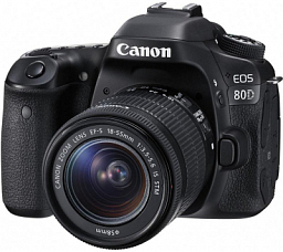 Canon EOS 80D EF-S 18-135 IS STM Kit