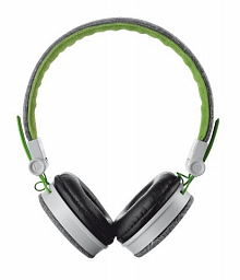 Trust Urban Fyber Headphone - grey/green (20080)