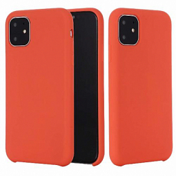 Apple Silicone Case for Iphone 11 Pro Light Red
