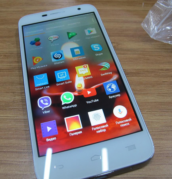 Telefon Alcatel One Touch Idol2 mini 6016D Cloudy_O (1) - Maxi.az