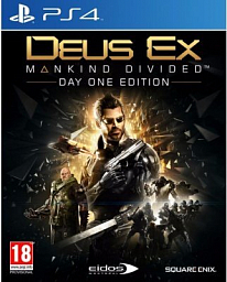 Sony PS4 - Deus EX: Mankind Divided - Day one edition