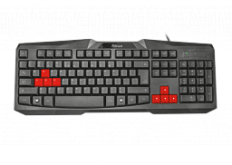 TRUST RU ZIVA GAMING KEYBOARD (22115)