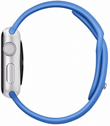 Apple Watch sport 38mm Silver Aluminum - Royal Blue Sport Band (MMF22LL/A)