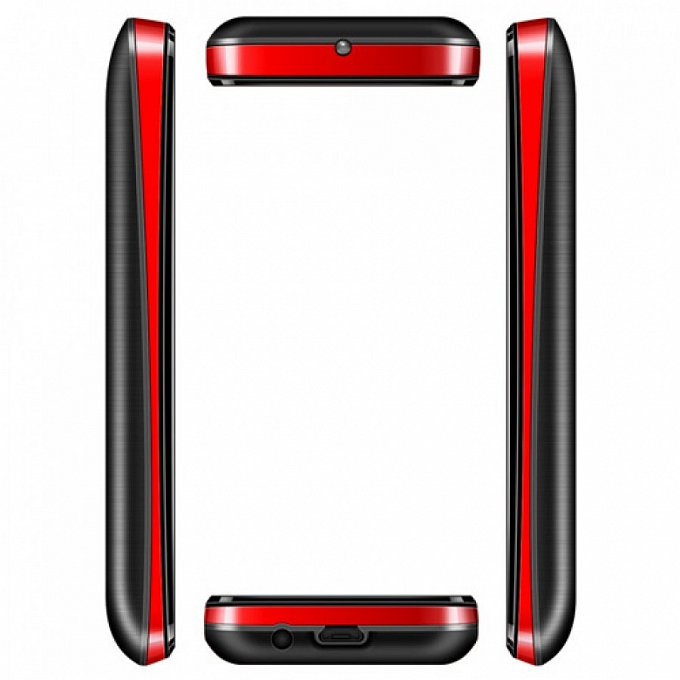Telefon Texet TM-226 Dual Black Red - Maxi.az