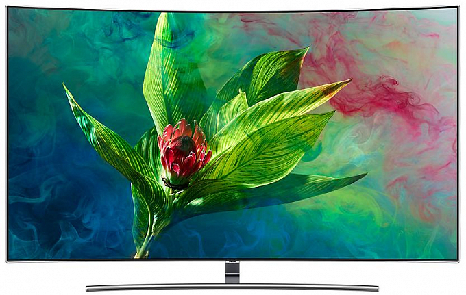 "4K UHD Телевизор 65"" Smart TV Curved Samsung QE65Q8CNAUXRU - Maxi.az"