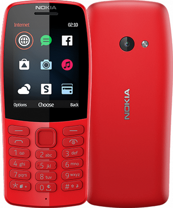 Nokia 210 Dual Red