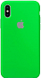 Apple Silicone Case for Iphone XS Max Green