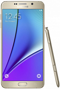 Telefon Samsung Galaxy Note 5 (32GB, Gold) - Maxi.az