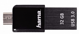 Hama USB Flash Canny 64 Gb 3.0 Otg Black