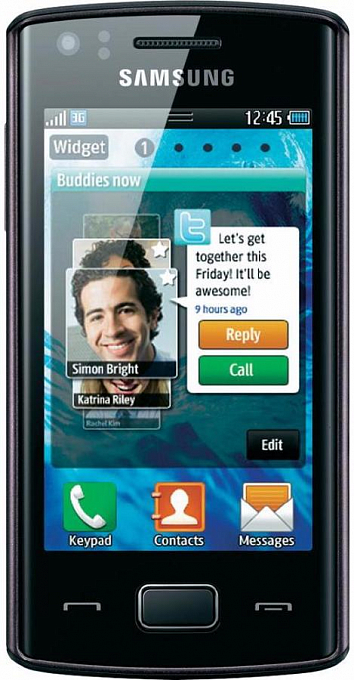 Samsung S5780 Wave 578 Black