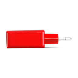 Ttec SpeedCharger USB Travel Charger, 2.1A, incl. Type C Red
