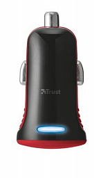 Trust 5W Car Charger - red (20740)