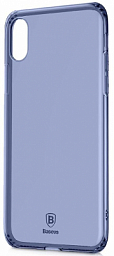Baseus Silicone Case Iphone X blue