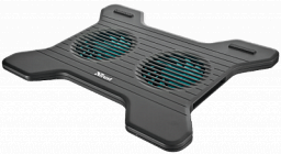 TRUST XSTREAM BREEZE NOTEBOOK COOLING STAND - BLACK (17805)