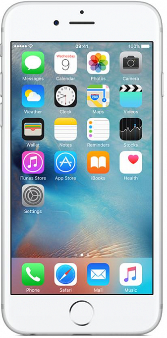 Telefon Apple iPhone 6S (128GB, Silver) - Maxi.az