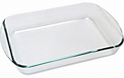 PYREX Rectangular roaster 35x23 408B