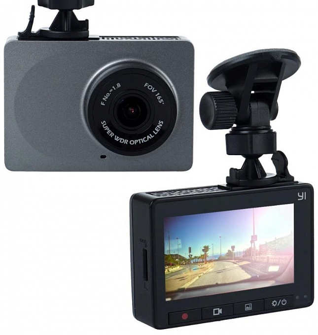 Videoreqistrator YI Smart Dash Camera - Maxi.az