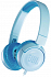 JBL JR300 Volume-Limited Kids On-Ear Headphones Blue