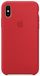 Apple Silicone Case for Iphone X Red