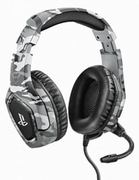 Trust GXT 488 Forze-G PS4 Gaming Headset PlayStation® official licensed product - grey (23531)