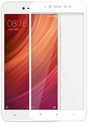 3D GLASS Xiaomi Redmi Note 5A White
