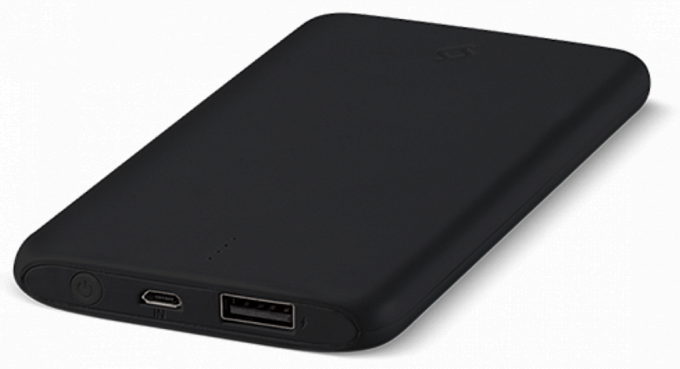 Portativ şarj cihazı (Power Bank) Ttec Powerslim 5000mah Black - Maxi.az