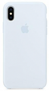 Çexol Apple Silicone Case for Iphone X Light Blue - Maxi.az