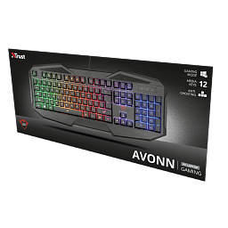 TRUST AVONN GXT 830RW GAMING KEYBOARD (22511)