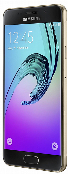 Samsung Galaxy A3 2016 Duos LTE (I/Gold)