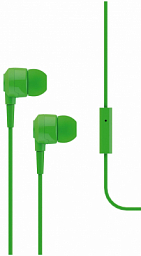 T-Tech J10 In-Ear Headphone with Microphone 3.5mm Green