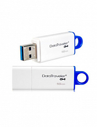 Kingston 16GB USB 3.0 DataTraveler I G4 (White + Blue)