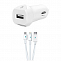 Ttec Speed Car Charger (2CKS01UT) White