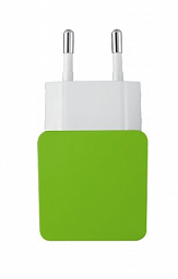 Trust Dual Smartphone Wall Charger - lime (20150)
