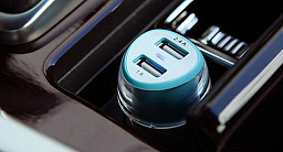 Nilkin Car Charger - Jelly Blue
